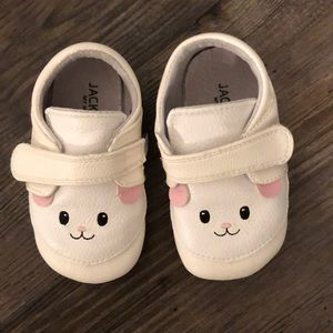 Jack and Lily Genuine Leather Critter Shoes - 24mo